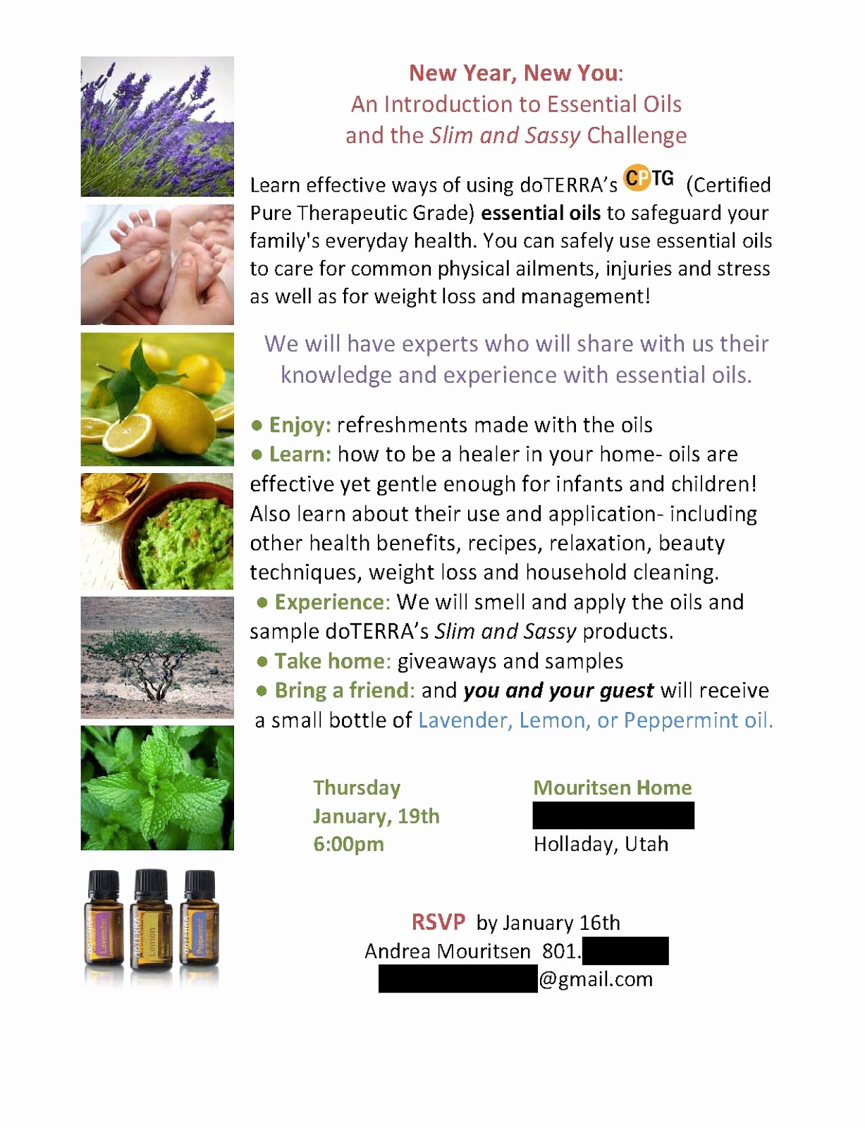 Doterra Essential Oil Class Invitation Unique Doterra Invitation Template