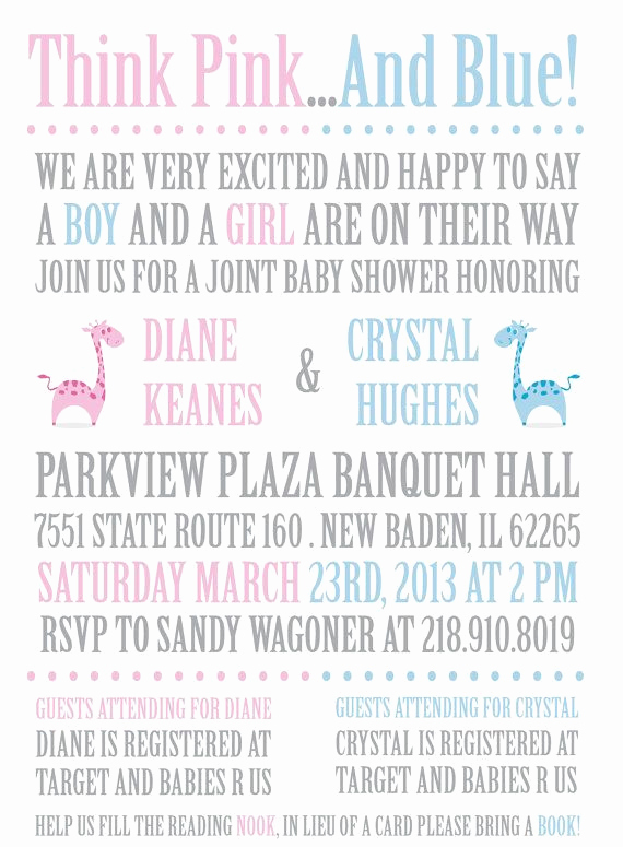 Double Baby Shower Invitation Wording Beautiful Best 25 Twin Baby Showers Ideas On Pinterest