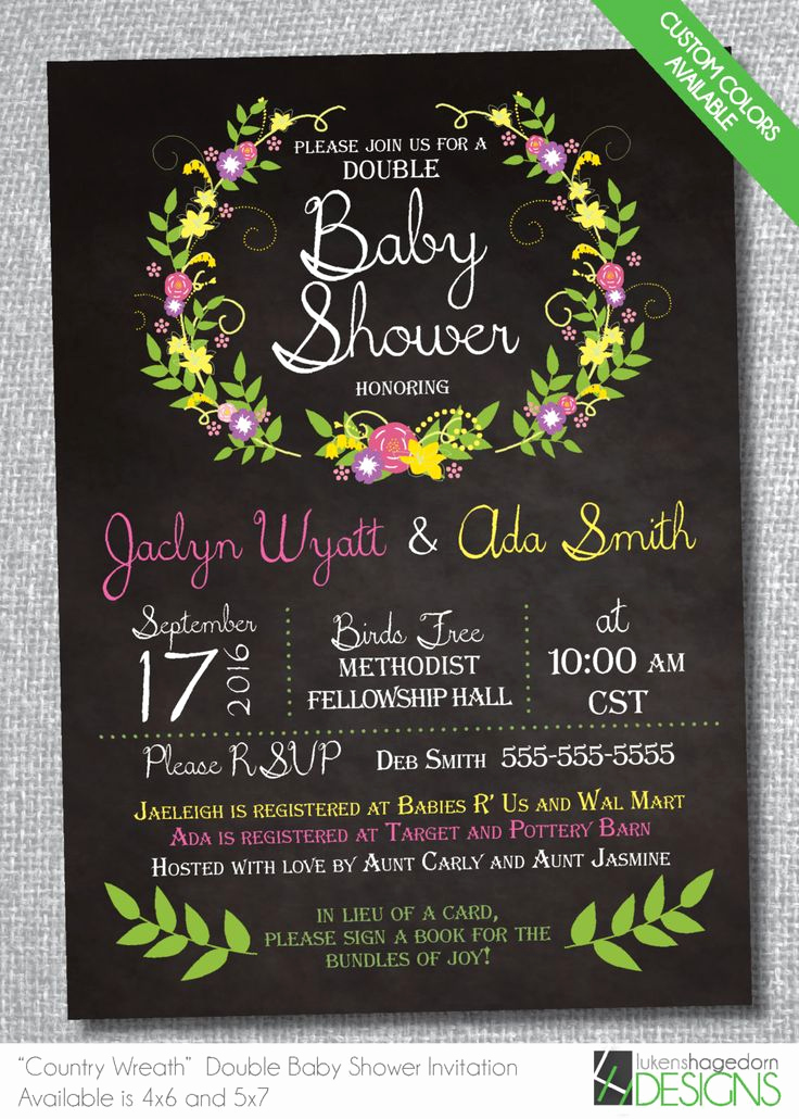 Double Baby Shower Invitation Wording Lovely 1000 Ideas About Double Baby Showers On Pinterest
