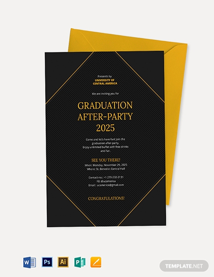 Download Graduation Invitation Template Beautiful Free Graduation Invitation Template Download 651