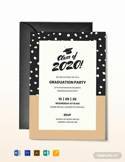 Download Graduation Invitation Template Elegant Free Graduation Invitation Template Download 651