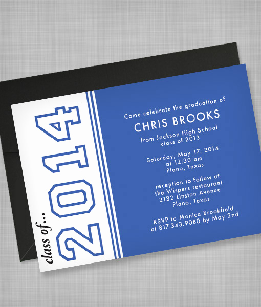 Download Graduation Invitation Template Lovely High School Graduation Invitation Template – Download & Print