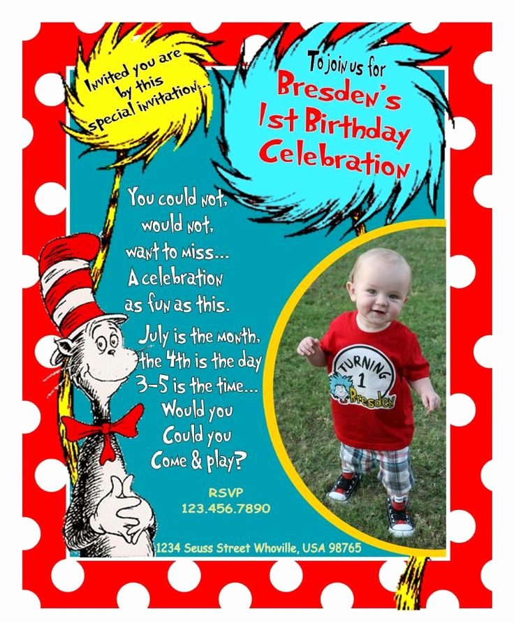 Dr Seuss Birthday Invitation Beautiful Dr Seuss Birthday Invitations