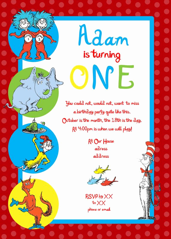 Dr Seuss Birthday Invitation Lovely Nice Create Dr Seuss Birthday Invitations