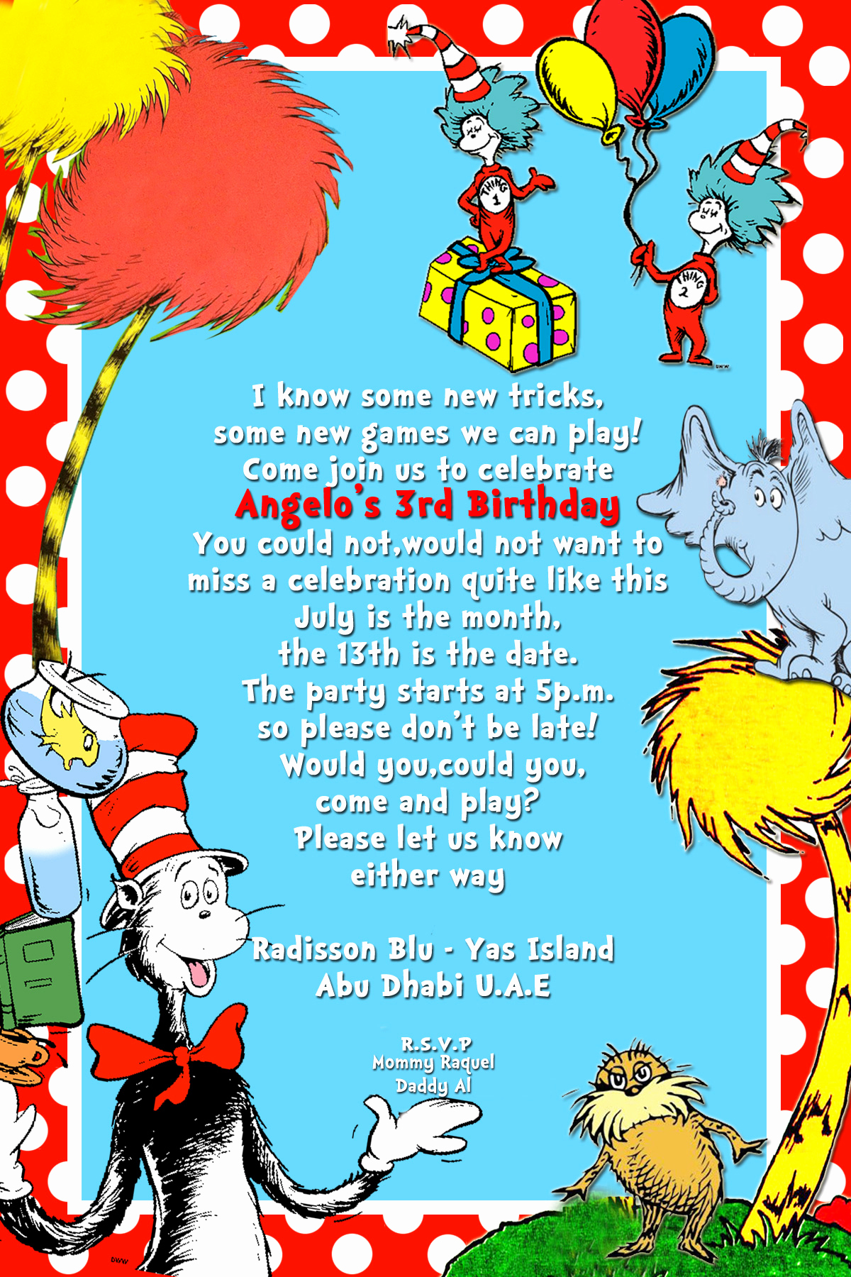 Dr Seuss Birthday Invitation Unique Seuss Fun Activity – Diary Of A Newbie Mom S Blog