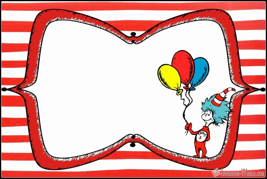 Dr Seuss Invitation Template Beautiful Dr Seuss Free Printable Invitation Templates