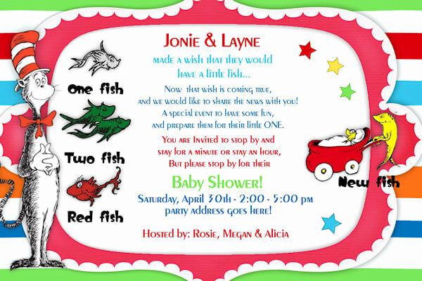 Dr Seuss Invitation Template Inspirational Free Dr Seuss Baby Shower Invitation Psd Template Free