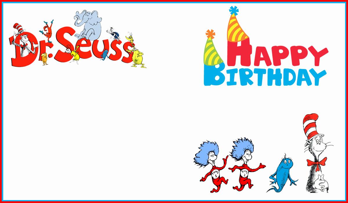 Dr Seuss Invitation Template New Dr Seuss Free Printable Invitation Templates