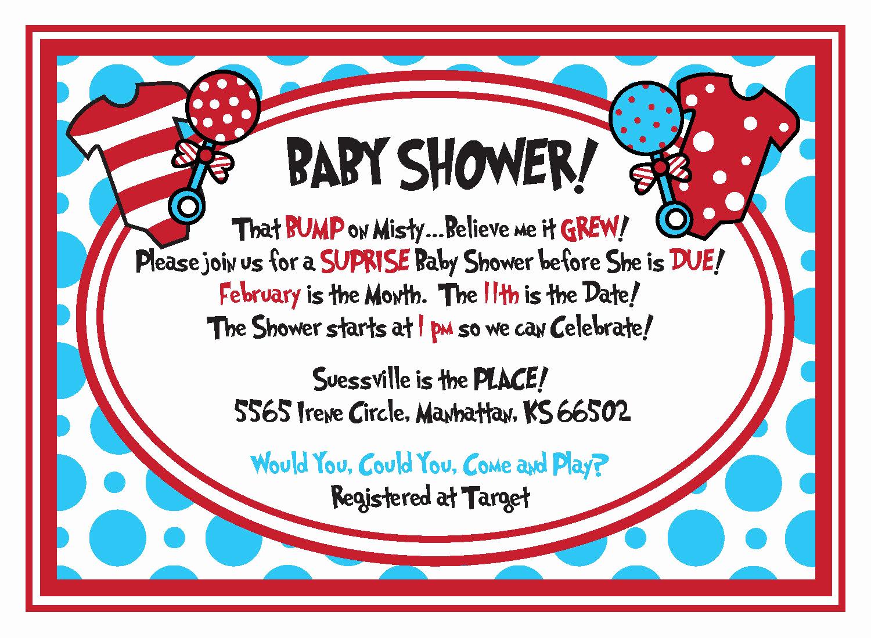 Dr Seuss Invitation Template New Free Dr Seuss Baby Shower Invitation Psd Template Free