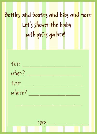 Drop In Shower Invitation Wording Elegant Free Printable Baby Shower Invitations