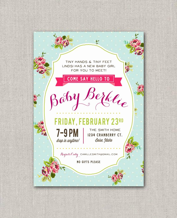 Drop In Shower Invitation Wording Luxury I Like This for Tiny Hands and Tiny Feet E Drop by
