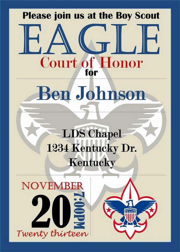 Eagle Scout Invitation Ideas Best Of 10 Cool Eagle Scout Invitations Hative