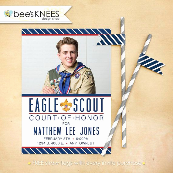 Eagle Scout Invitation Ideas Elegant 1000 Images About Eagle Scout Court Of Honor Invitations
