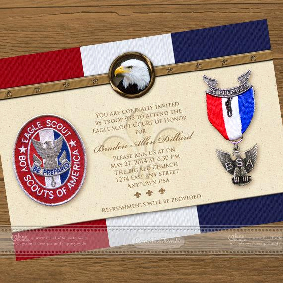 Eagle Scout Invitation Ideas Luxury Eagle Scout Court Of Honor Invitations Eagle Scout Eagle