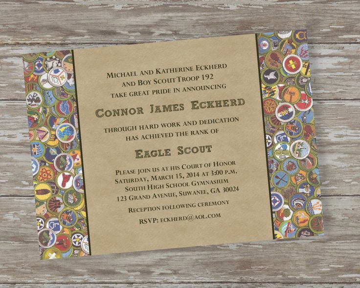 Eagle Scout Invitation Wording Best Of 70 Best Eagle Scout Court Of Honor Images On Pinterest
