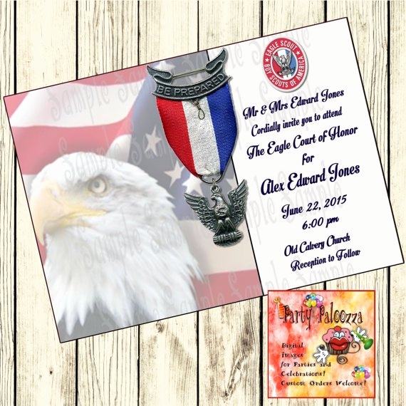 Eagle Scout Invitation Wording Best Of Eagle Scout Invitations Print