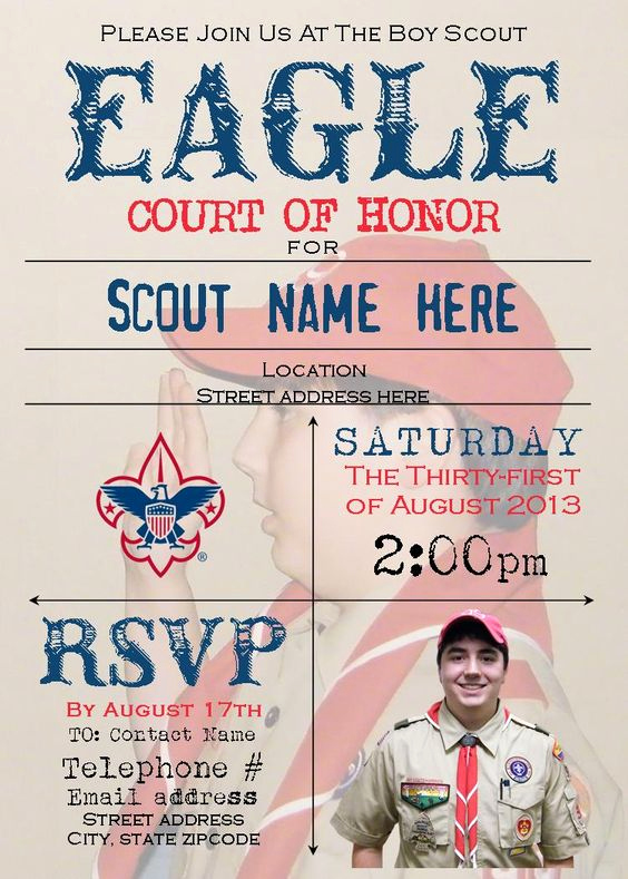 Eagle Scout Invitation Wording Luxury norman Rockwell Invitations and norman On Pinterest