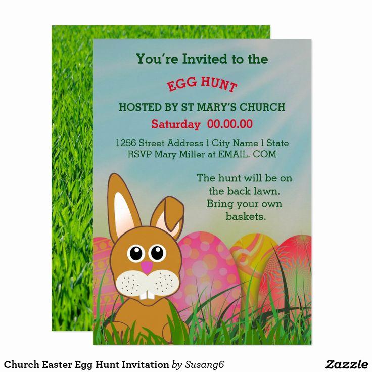 Easter Egg Hunt Invitation Elegant 17 Best Images About Easter Invitations and Cards On