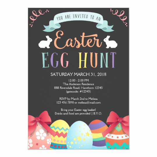 Easter Egg Hunt Invitation Luxury Easter Egg Hunt Invitation Egg Hunt Invite