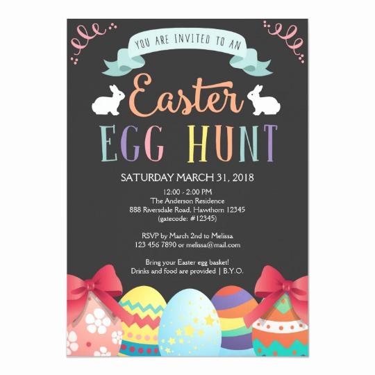 Easter Egg Hunt Invitation Luxury Easter Egg Hunt Invitation Egg Hunt Invite