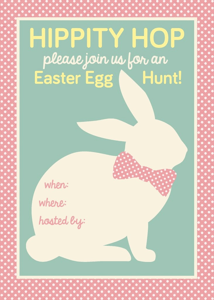 Easter Egg Hunt Invitation Unique Easter Egg Hunt Printable My Sister S Suitcase