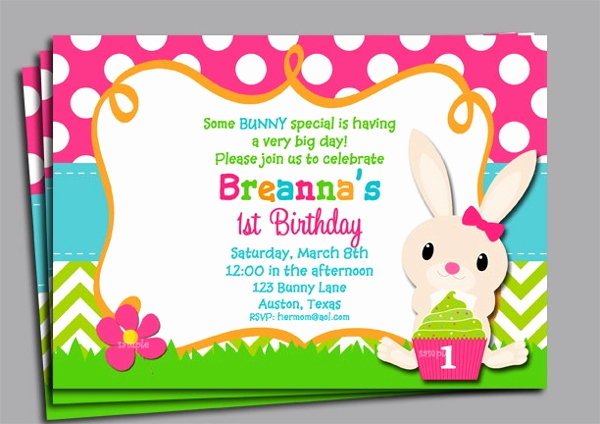 Easter Invitation Template Free Awesome 11 Easter Invitation Templates