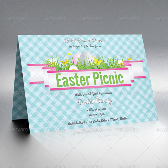 Easter Invitation Template Free Beautiful 32 Easter Invitation Templates – Free Sample Example