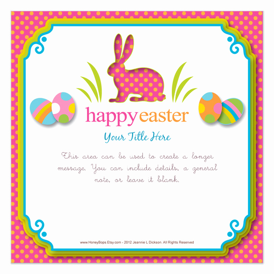 Easter Invitation Template Free Beautiful Happy Easter Invitations & Cards On Pingg