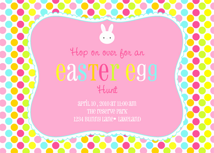Easter Invitation Template Free Best Of Easter Egg Hunt Printable Invitation Dimple Prints Shop