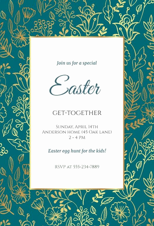 Easter Invitation Template Free Inspirational 30 Best Easter Invitations Templates Images On Pinterest