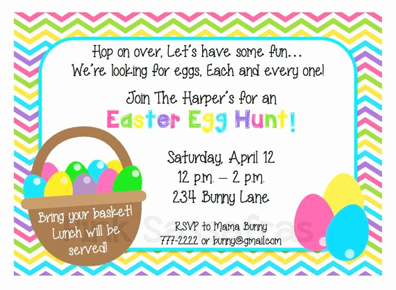Easter Invitation Template Free Lovely Easter Egg Hunt Invitation Easter Pinterest