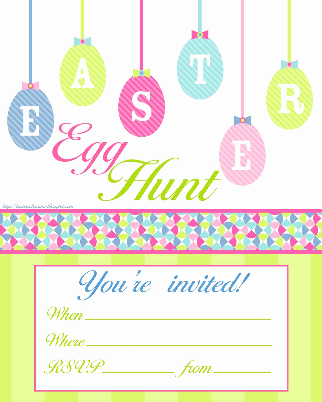 Easter Invitation Template Free Luxury Easter Egg Hunt Free Printable Invitation Print However