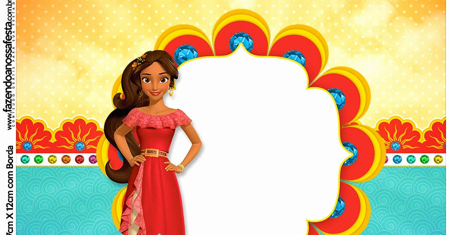 Elena Of Avalor Invitation Template Awesome Elena Of Avalor Free Printable Candy Bar Labels