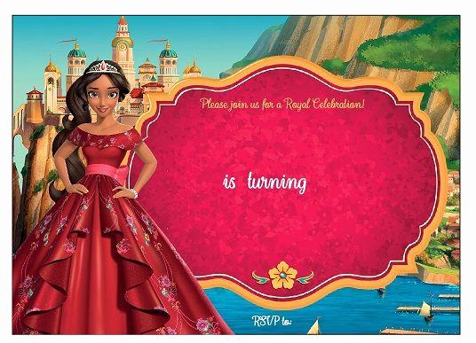 Elena Of Avalor Invitation Template Elegant Elena Of Avalor Birthday Party Ideas and themed Party