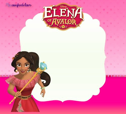 Elena Of Avalor Invitation Template Lovely Elena De Avalor Marcos Para Fotos Imagenes De Elena De