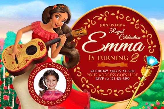 Elena Of Avalor Invitation Template Lovely Pin by Invitesgallery On Elena Of Avalor Invitation