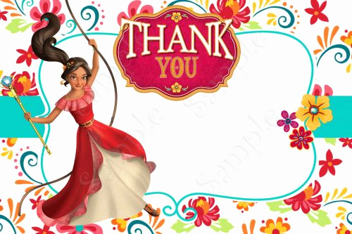 Elena Of Avalor Invitation Template Unique Elena Of Avalor Birthday Party Invitation Elena Of Avalor