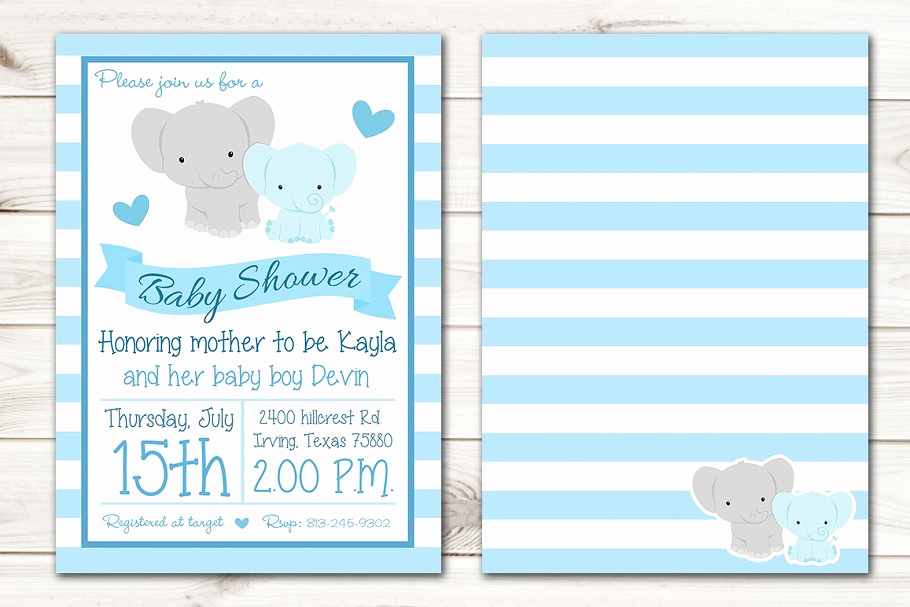Elephant Baby Shower Invitation Templates Best Of 12 Printable Elephant Baby Shower Invitation Templates