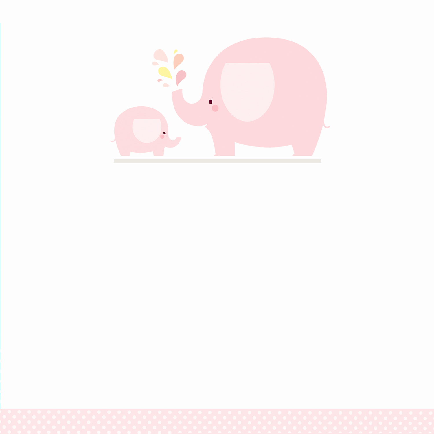Elephant Baby Shower Invitation Templates New Pink Baby Elephant Free Printable Baby Shower Invitation