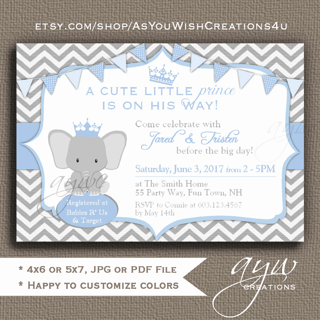 Elephant Baby Shower Invitation Unique Elephant Baby Shower Invitations Boys Elephant Baby Shower