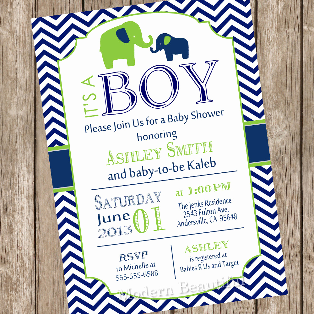 Elephant Invitation Baby Shower Best Of Elephant Boy Baby Shower Invitation Elephant Baby Shower
