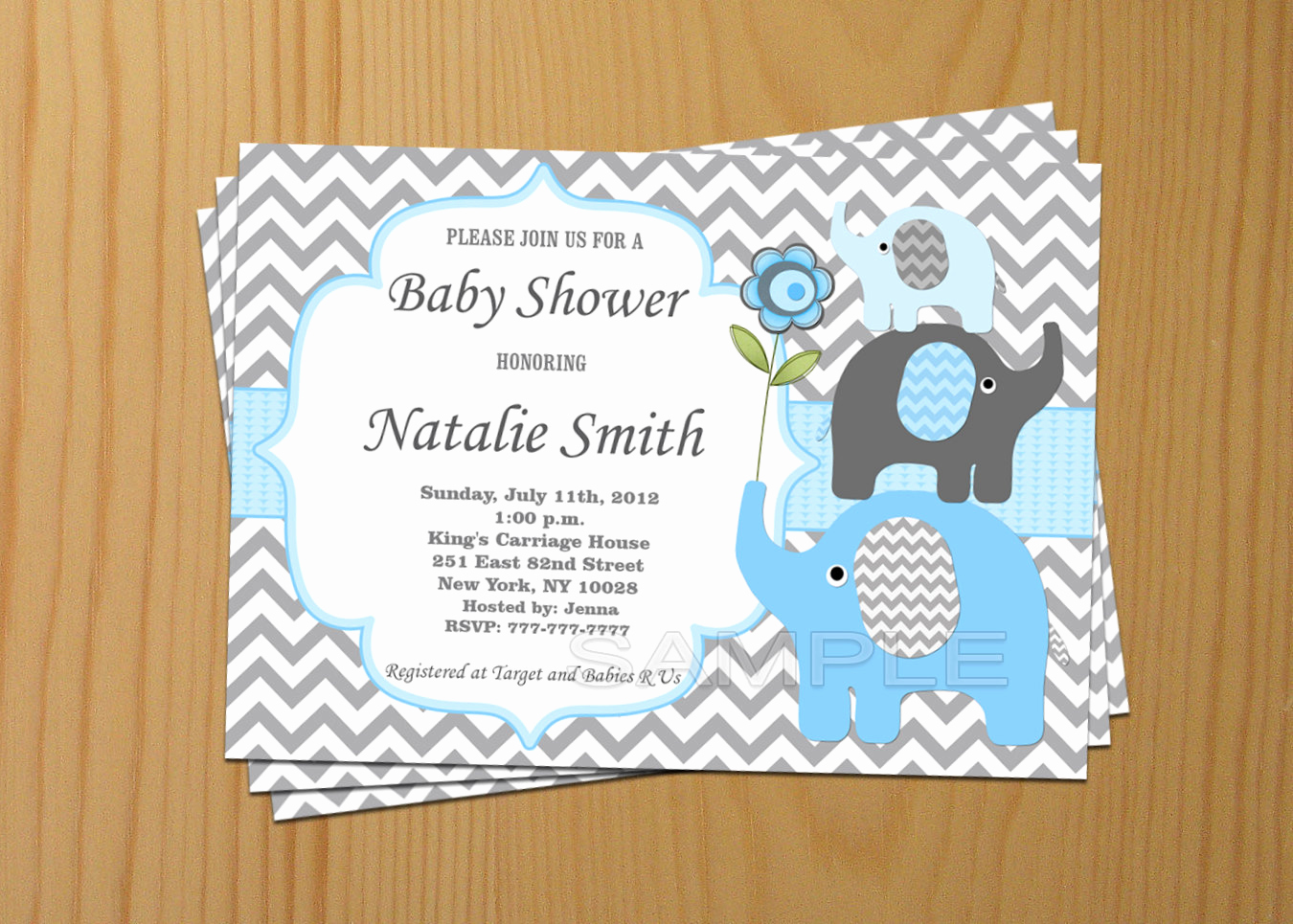 Elephant Invitation Baby Shower Inspirational Baby Shower Invitation Elephant Baby Shower Invitation Boy