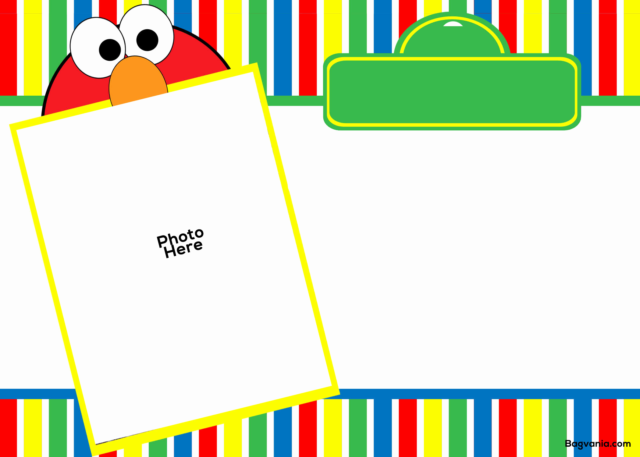 Elmo Birthday Invitation Template Best Of Free Printable Elmo Birthday Invitations – Free Printable