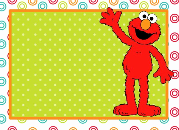 Elmo Invitation Template Free Lovely Elmo Clip Art 74 Cliparts