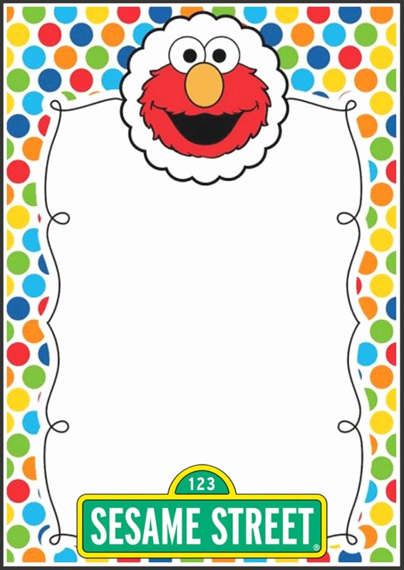 Elmo Invitation Template Free New 12 Printable Elmo Invitations Children S Favorite