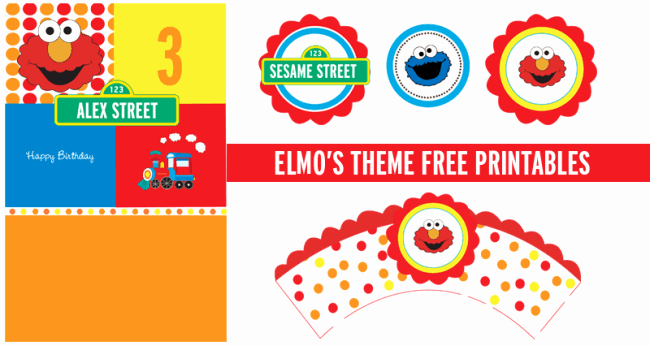 Elmo Invitation Templates Free Inspirational 15 Free Birthday Printables I Heart Nap Time
