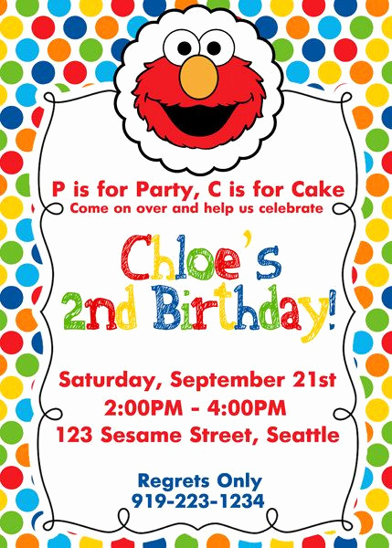 Elmo Invitation Templates Free Inspirational Best 20 Elmo Birthday Ideas On Pinterest