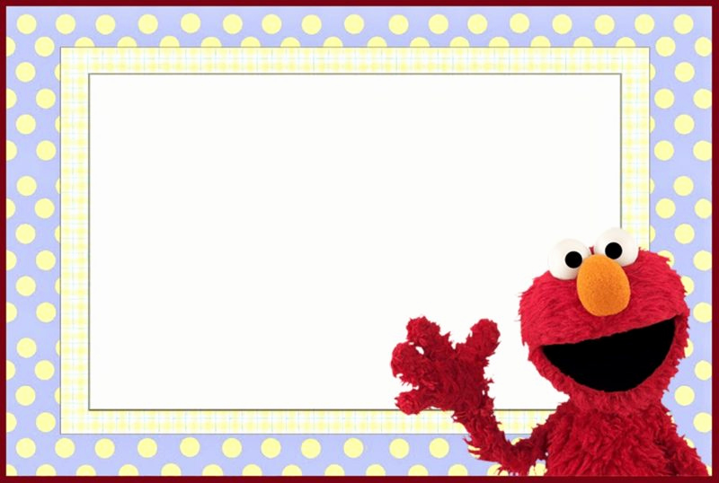 Elmo Invitation Templates Free Luxury 12 Printable Elmo Invitations Children S Favorite