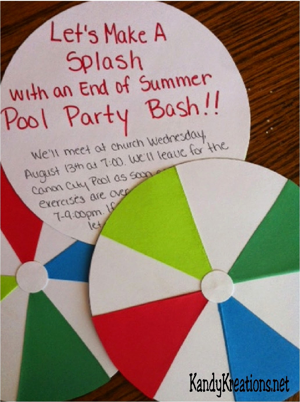 End Of Summer Party Invitation Awesome Young Women Weekly Activity Idea End Of Summer Pool Party