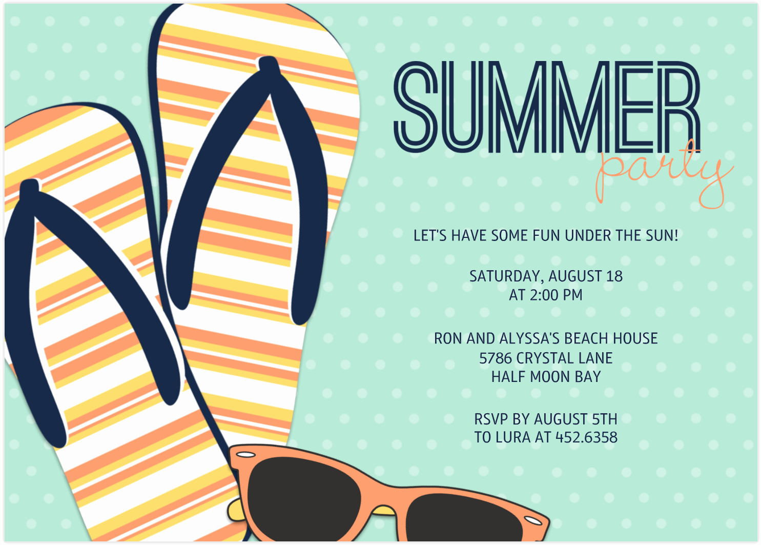 End Of Summer Party Invitation Elegant End Summer Party Invitations